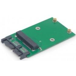 """Adaptador de Disco SSD Mini SATA 3.0 - mSATA 1,8"""" Gembird"""