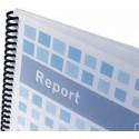 Cubiertas para Encuadernado de PVC Transparente GBC 100 Uds