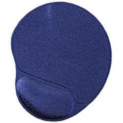 Gembird mat with wrist rest Gel Blue