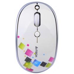 Ratón Wireless Gembird A4Tech Blanco