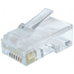 CAT.6 RJ45 connector Gembird 100 Units