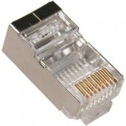 Conector RJ45 FTP Gembird 100 Unidades