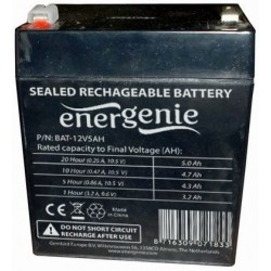 Batería para UPS de 12V Energenie BAT-12V5AH