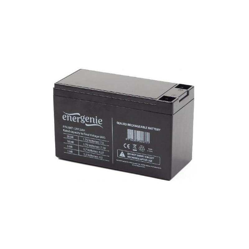 UPS 12V battery EnerGenie BAT-12V7.5AH