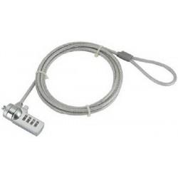 Cable de Seguridad para Portátil Gembird con Combinación