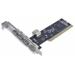 Tarjeta PCI 4+1 Puertos USB...