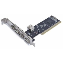 PCI Card 4 + 1 Ports USB Gembird