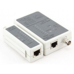 Cable Tester RJ45 and RG58 Cablexpert