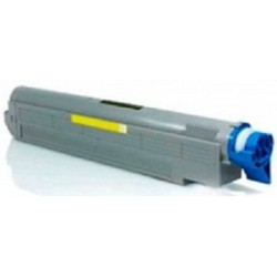 Oki 43487709 Compatible Yellow Toner