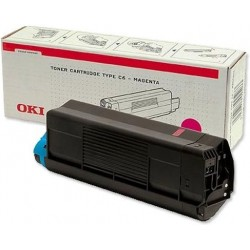 Oki C3100 Toner Magenta 42804514