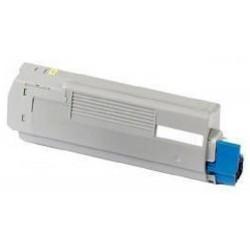 Toner Compatible Oki C5850/C5950/MC560 Amarillo 43865722