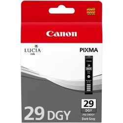 Tinta Canon 29 Gris Oscuro PGI-29DGY