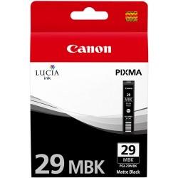 Tinta Canon 29 Negro Mate PGI-29MBK