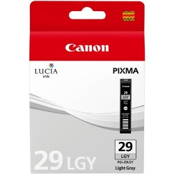 Tinta Canon 29 Gris Claro PGI-29LGY