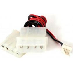 Cable Alimentación 1 Molex M / 1 Molex H + Ventilador Cablexpert