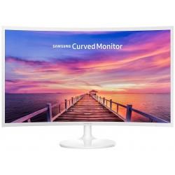 """Monitor de 32"""" Samsung C32F391FWU Blanco Curvo"""