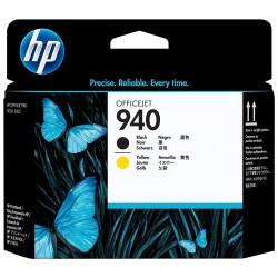 Cabezal de Impresion HP 940 Negro y Amarillo C4900A