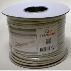 Cable de Red Cat.6 FTP Solido 100m Cablexpert