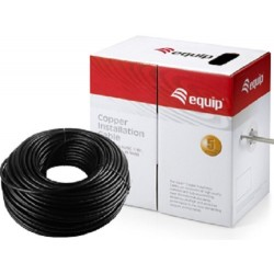 Cable de Red Cat.5e Exterior U/UTP 305m Equip