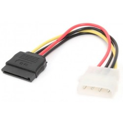 Cable Alimentación SATA H / Molex M Cablexpert