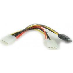 Cable Alimentación Molex M / Molex H + SATA