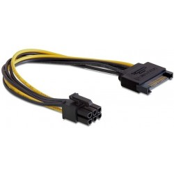 Power Cable 6-pin PCIe / SATA Cablexpert