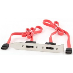 Internal SATA bracket 2x eSATA Cablexpert