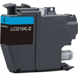 Tinta Compatible Brother LC3217/LC3219XL Cian