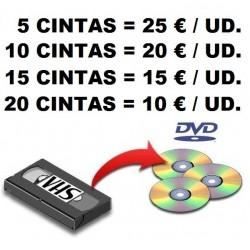 PASO DE CINTA A DVD