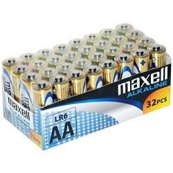 MAXELL MAX73131 PACK 32 PILAS ALCALINAS LR6 AA 1.5V