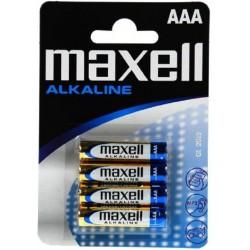 Pila AAA Maxell MAX16401 4 Unidades