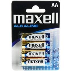 MAXELL MAX16376 PAQUETE DE PILAS ALCALINAS LR6 AA 1,5V