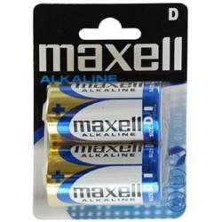 MAXELL MAX16117 PAQUETE DE PILAS LR20 D 1.5V