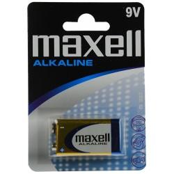 MAXELL MAX15025 PILA ALCALINA 9V LR61 BLISTER 1UD EU