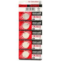 MAXELL MAX00032 PILA BOTON LITIO CR2032 3V BLISTER 5UD
