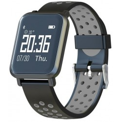 Smartwatch Leotec MultiSport Helse Negro
