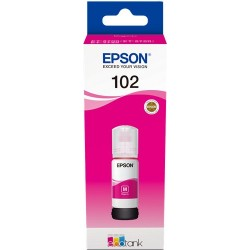 Tinta Epson 102 Magenta T03R3