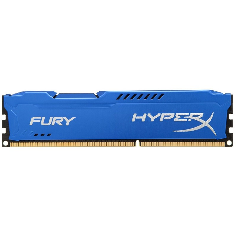 Memoria DDR3 1600 8GB Kingston HyperX Fury Blue