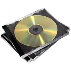 Caja CD/DVD Jewel Doble x5 Fellowes