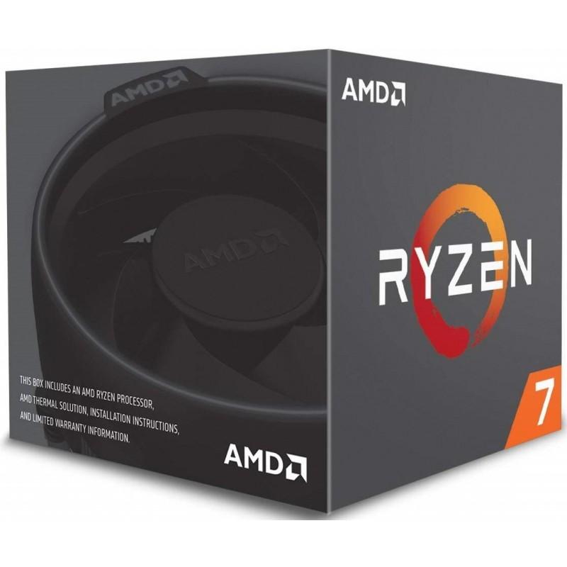 Procesador AMD Socket Am4 Ryzen7 2700X 3,7Ghz