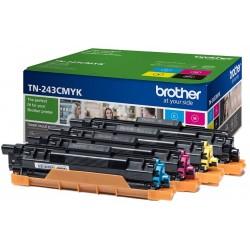 Toner Brother TN243 Pack de los 4 Colores