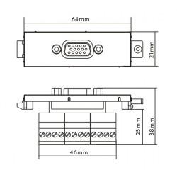 Modulo Vision TC3 VGA Hembra