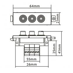Modulo Vision TC3 3 RCA