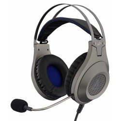 Auriculares con Microfono The G-Lab Korp Chromium Silver