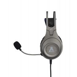 Auriculares con Microfono The G-Lab Korp Chromium Silver