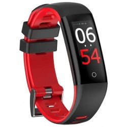 Pulsera Fitness Leotec Fashion Health Roja