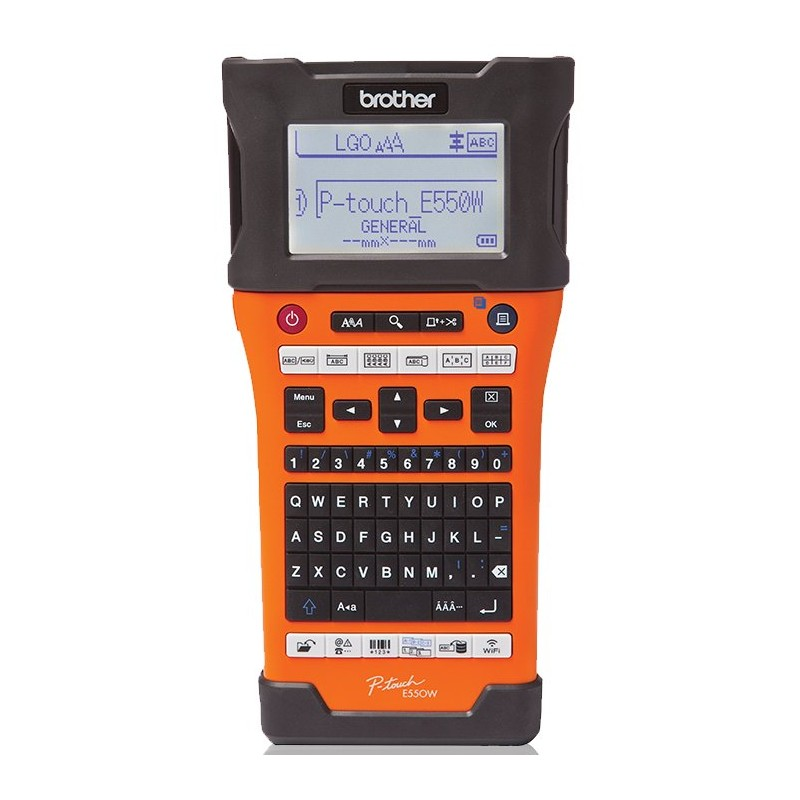 Rotuladora Brother P-Touch E550WVP