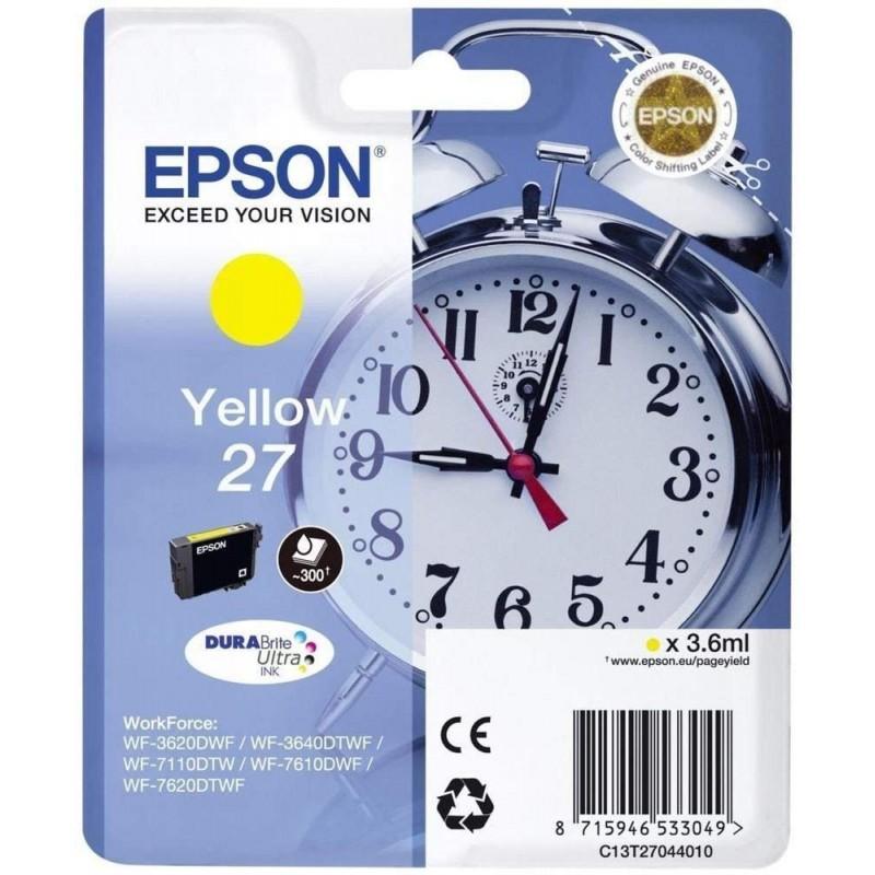 Tinta Epson 27 Amarillo T2704