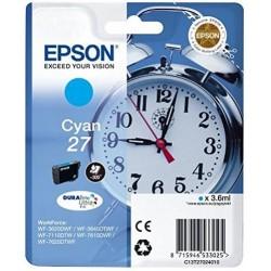 Tinta Epson 27 Cian T2702