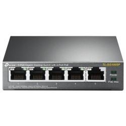Switch PoE 5 Puertos Tp-Link TL-SG1005P